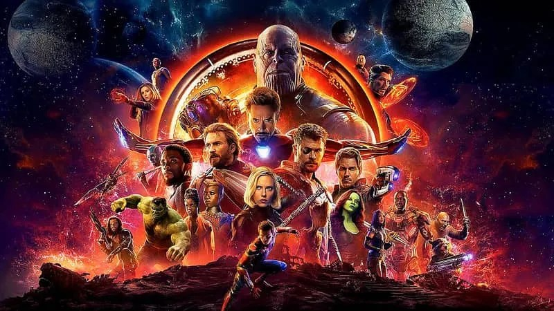 Avengers: Infinity War, Marvel, avengers supereroi, Netflix, Natale, Thanos, streaming, cinema, film, disney hollywood, America, Canada, attori, serie, news