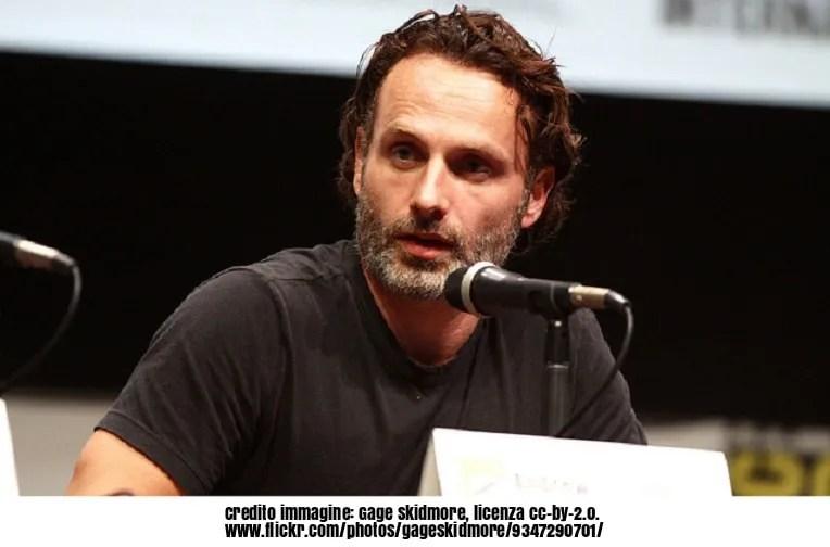 The Walking Dead: Andrew Lincoln sarà ancora Rick al cinema!