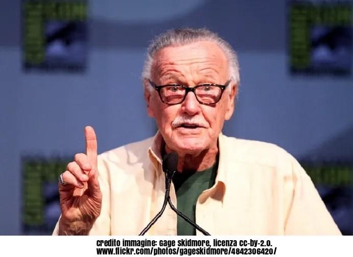 Morto Stan Lee: ha creato Spider-Man e i supereroi Marvel
