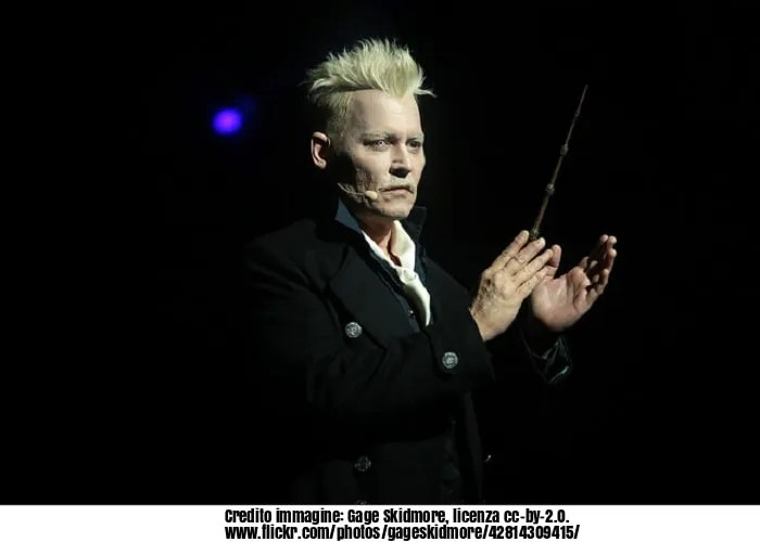 Animali Fantastici, i crimini di grindelwald, Johnny Depp, attori, matrimonio, cinema, pellicola, Hollywood, Harry Potter, Animali fantastici e dove trovarli