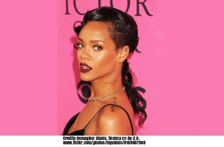 Rihanna, Donald Trump, Axl Rose, Guns N 'Roses, gruppo, musica, Barbados, votazione, cantante, hollywood, Taylor Swift,Leonardo DiCaprio, PharrellWilliams