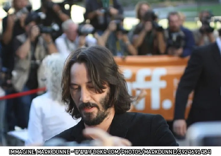 Keanu Reeves a Roma piange in strada per la sorella malata