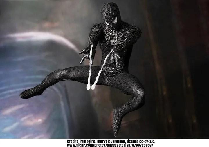 Sony Pictures rivela il nome del costume nero di Spider-Man!