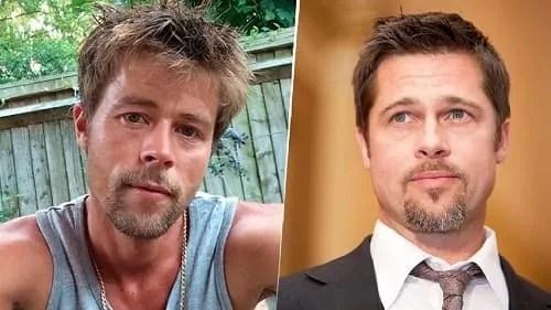 Brad Pitt sosia