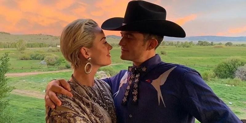 Orlando Bloom, katy perry engagement ring, Katy Perry, fidanzamento, panarea, katy perry and orlando bloom 2019, katy perry orlando bloom 2019, celebrità.