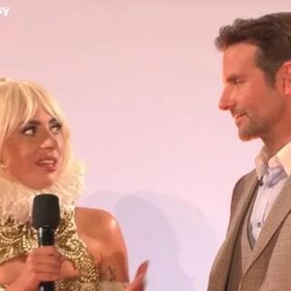 A Star Is Born Lady Gaga parla di Bradley Cooper