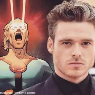 Eternals Richard Madden Kit Harington foto dal set
