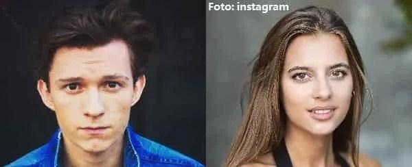 rapporto di coppia tom holland fidanzata nadia parkes