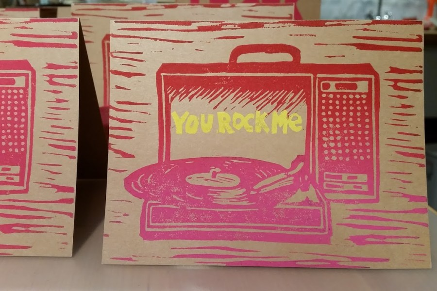 You Rock Me Record Player