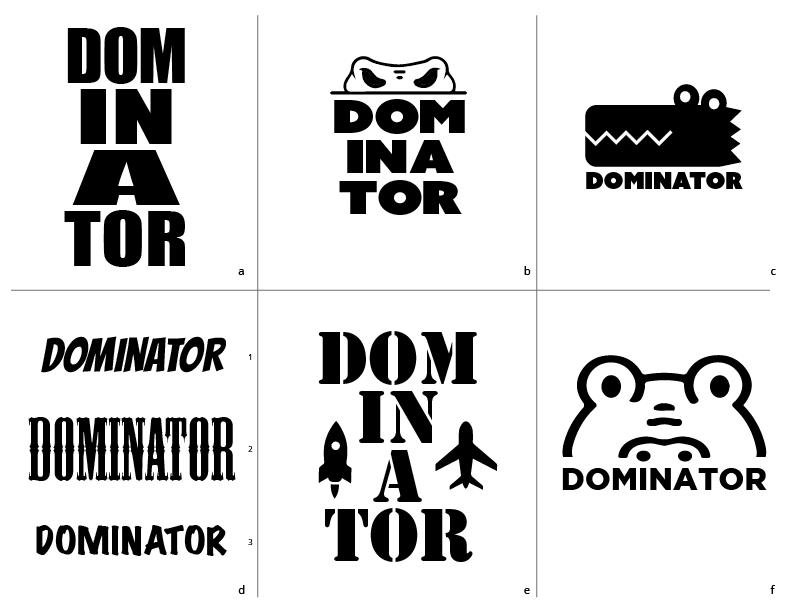 Dominator Logos