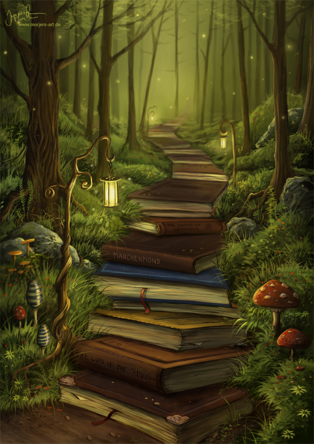 The Reader's Path by Jeremiah Morelli