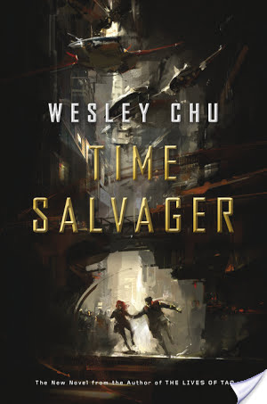 Audiobook Review: Time Salvager by Wesley Chu