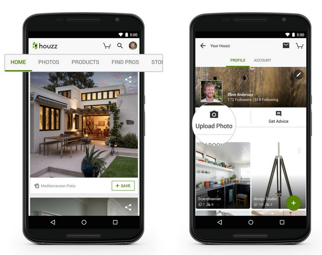 App Refresh Android Ideas