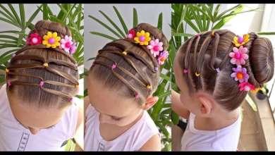 Photo of Los Preciosos peinados para niñas ideales para fiestas y ocasiones especiales