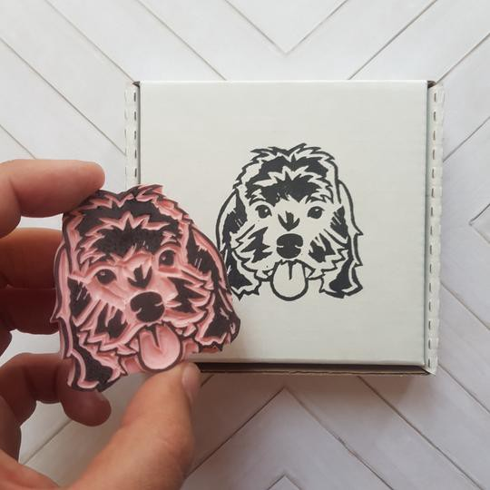 Don't leave your pets out of the action, make custom stamps for them too!