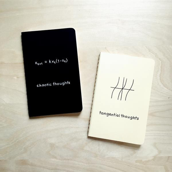 In addition to cards, The Chemist tree offers a line-up of notebooks as well.