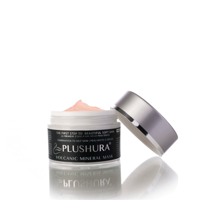 Volcanic Mineral Mask from Plushara, $45. Clears skin blemishes, pigmentation, and uneven texture.