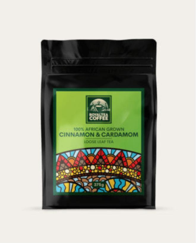 Royaltea Cinnamon and Cardamom coffee