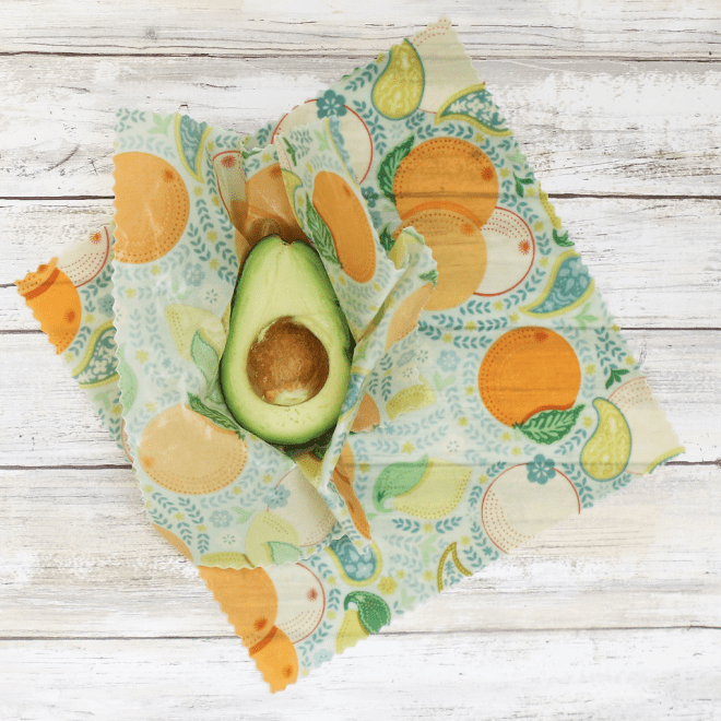 Love your planet beeswax wraps