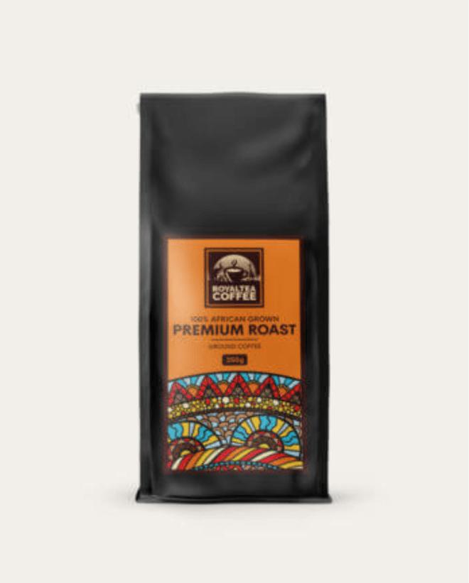 Royaltea Premium Roast coffee