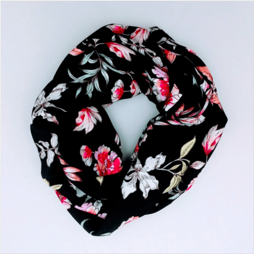 The unique floral circle scarf from Beau.Cou