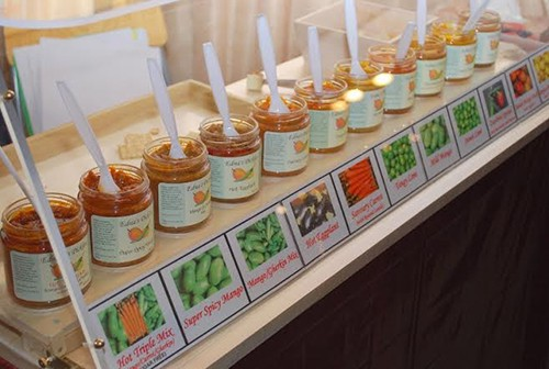 Edna's Pickles lineup