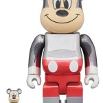 【90歳記念】BE@RBRICK fragmentdesign MICKEY MOUSE COLOR Ver. 100% & 400%/1000%