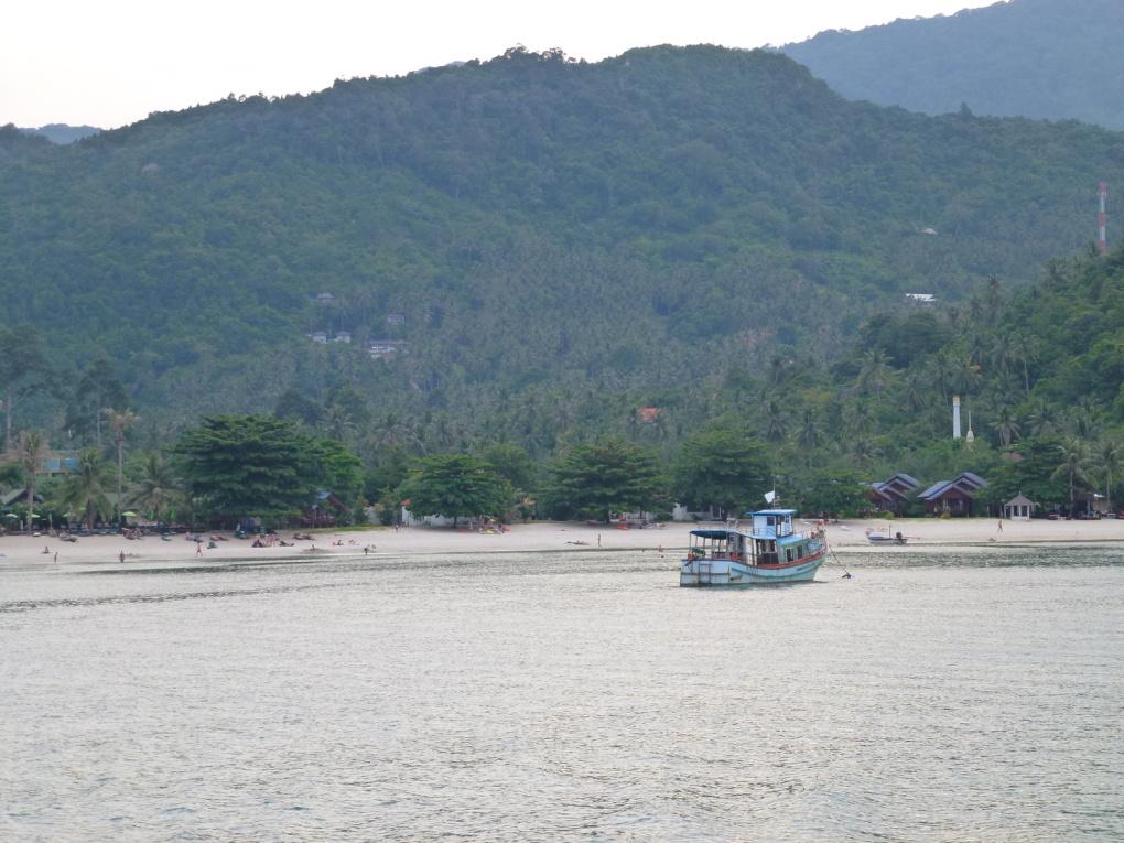 Retour à Koh Samui et couché de soleil