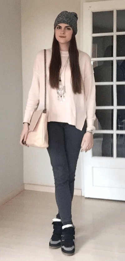look pull rose tendance clemence 9