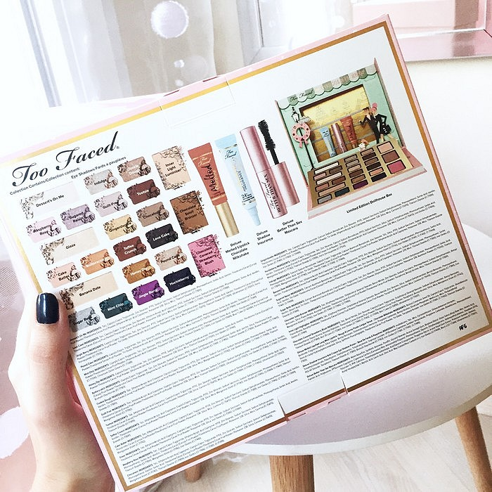 Chocolate Shop palette Noel 2016 Too Faced 4