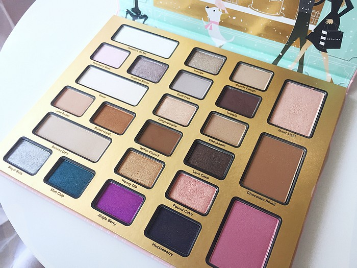 Chocolate Shop palette Noel 2016 Too Faced 8