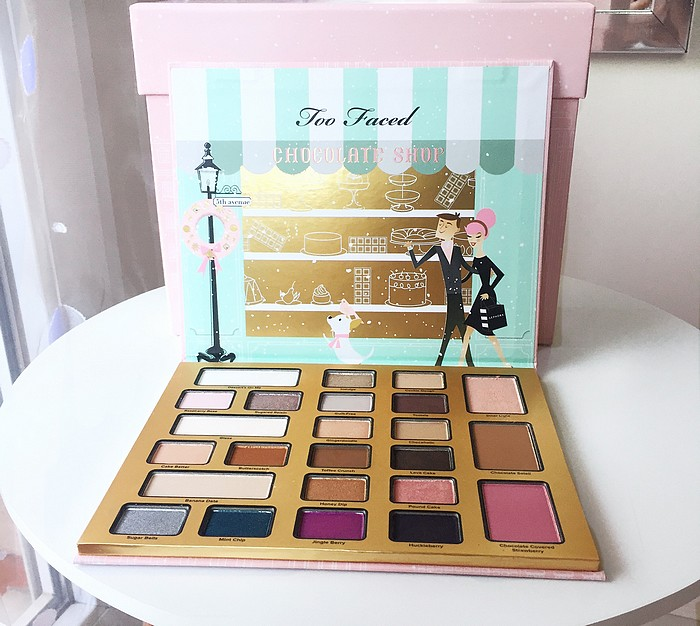 Chocolate Shop palette Noel 2016 Too Faced 7