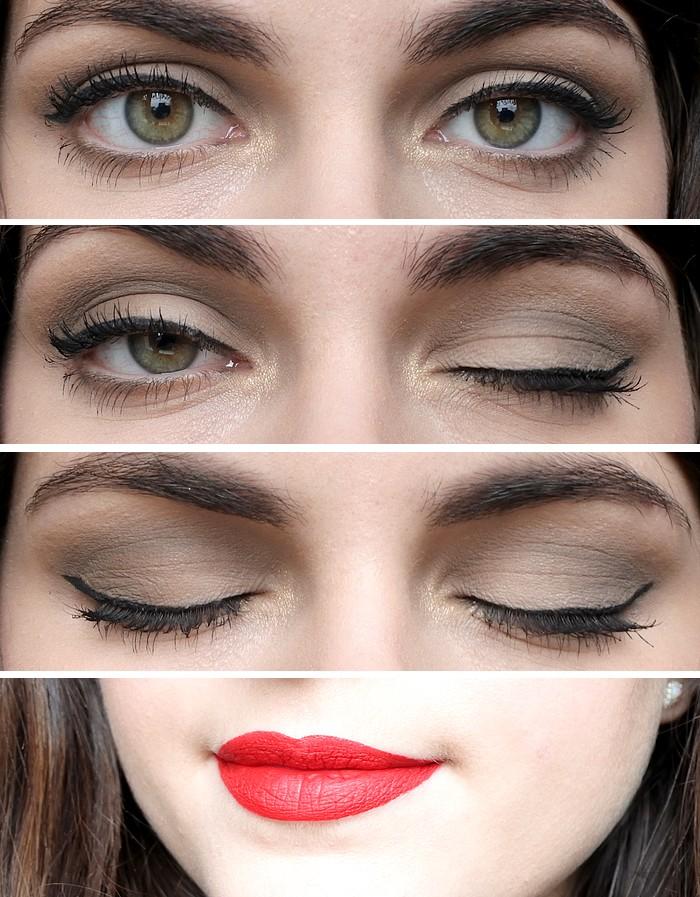 st valentin zoom maquillage glamour