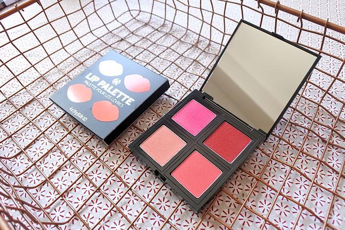 Les nouvelles palettes teint & lèvres The Body Shop tendance clémence