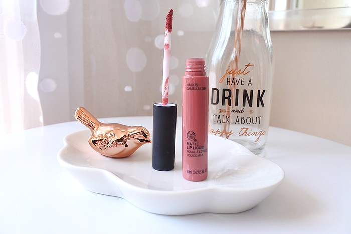 Matte Lip Liquid The Body Shop Tendance Clémence blog beauté