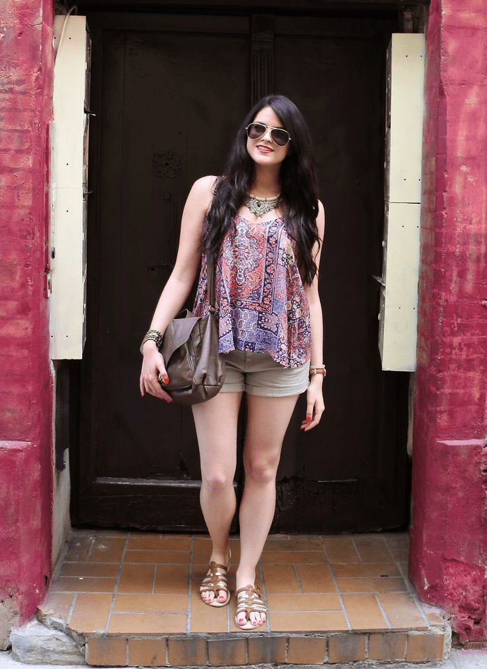 Look indian top tendance clémence blog mode toulouse