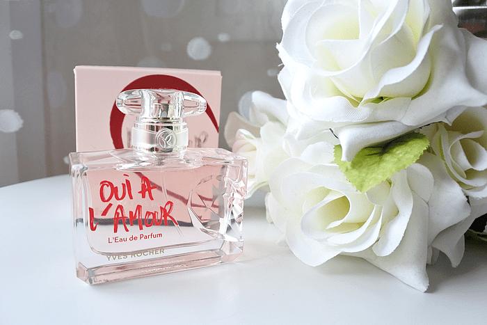 Nouveau parfum Oui à l'amour d'Yves Rocher tendance clémence