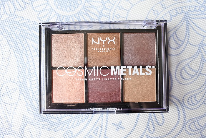 palette cosmic metals nyx tendance clémence