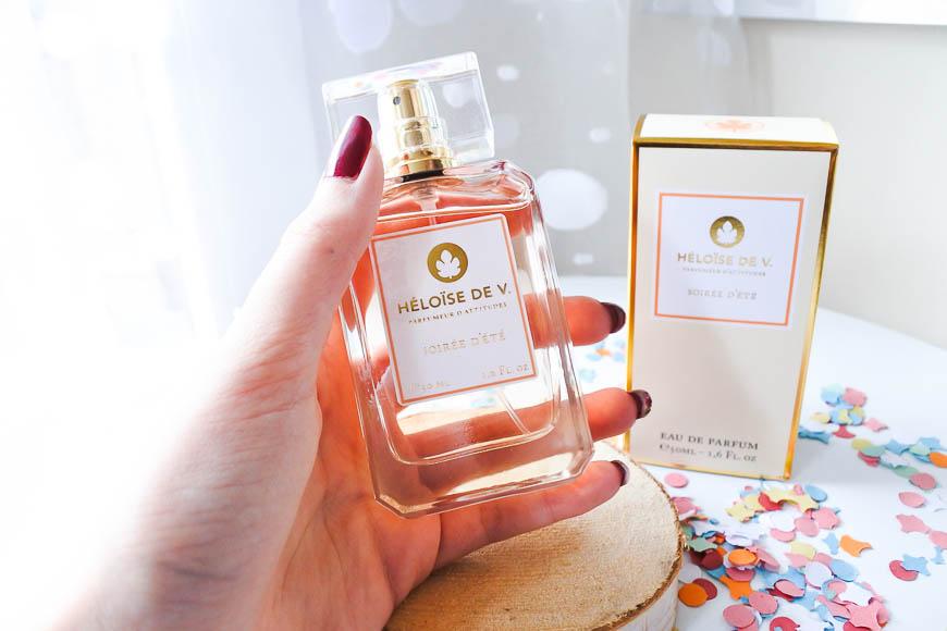 Le parfum Soirée d'Eté Heloise de V Tendance Clémence blog