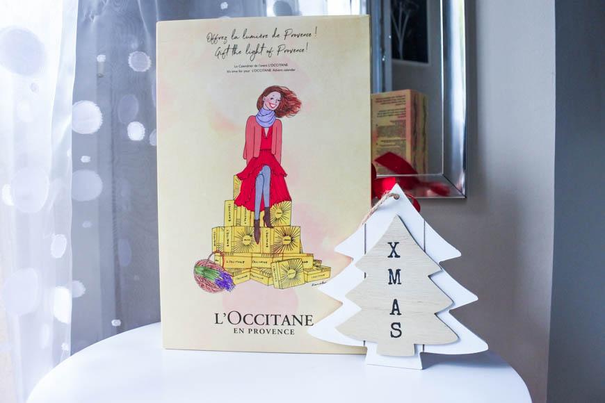 Noel avant l'heure avec le Calendrier de l'Avent l'Occitane