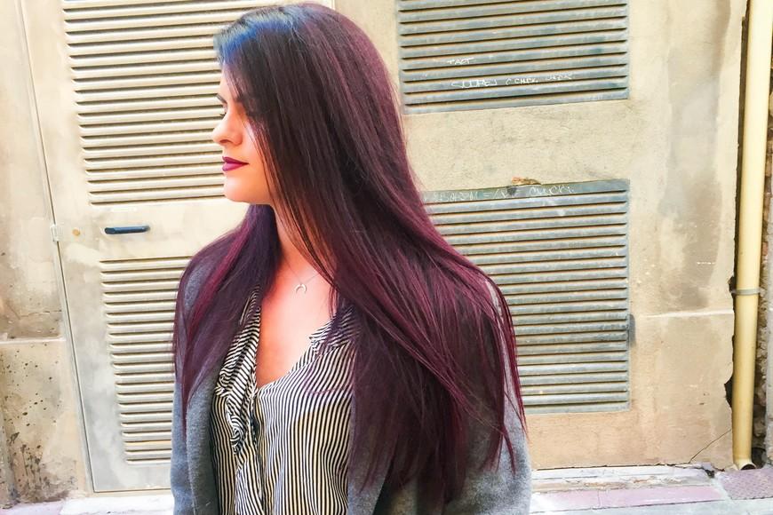 Mes cheveux après