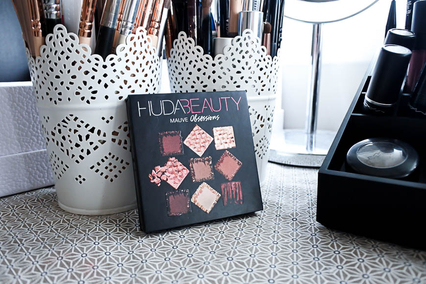La palette Mauve Obsession d'Huda Beauty