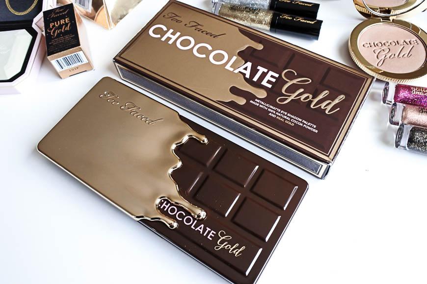 Chocolate Gold : la brillante collection de Too Faced