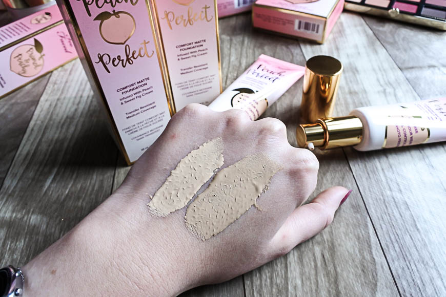Peach and Cream : la nouvelle collection gourmande de Too Faced
