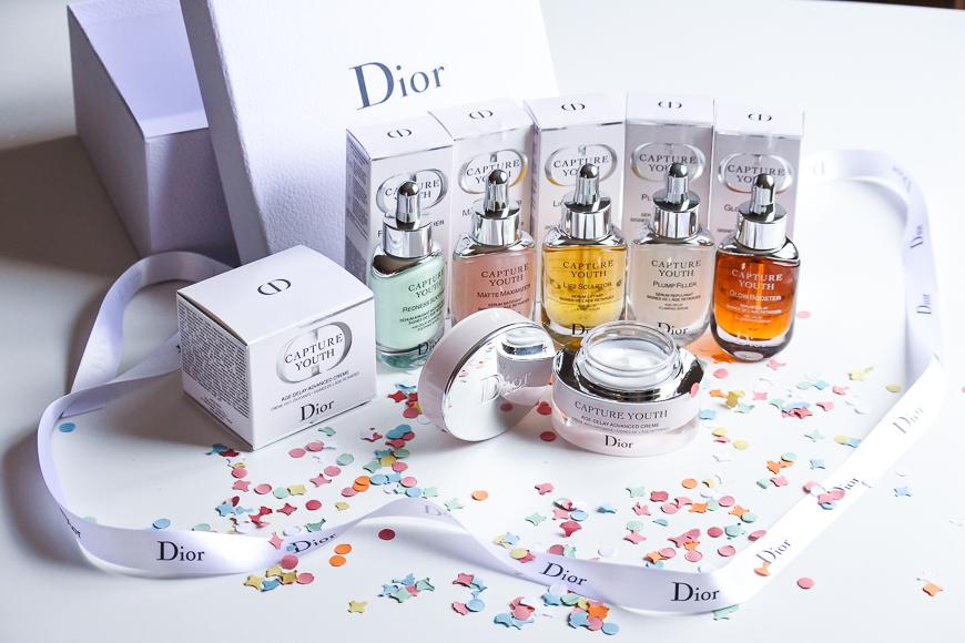 La gamme de soins anti-oxydants Capture Youth Dior