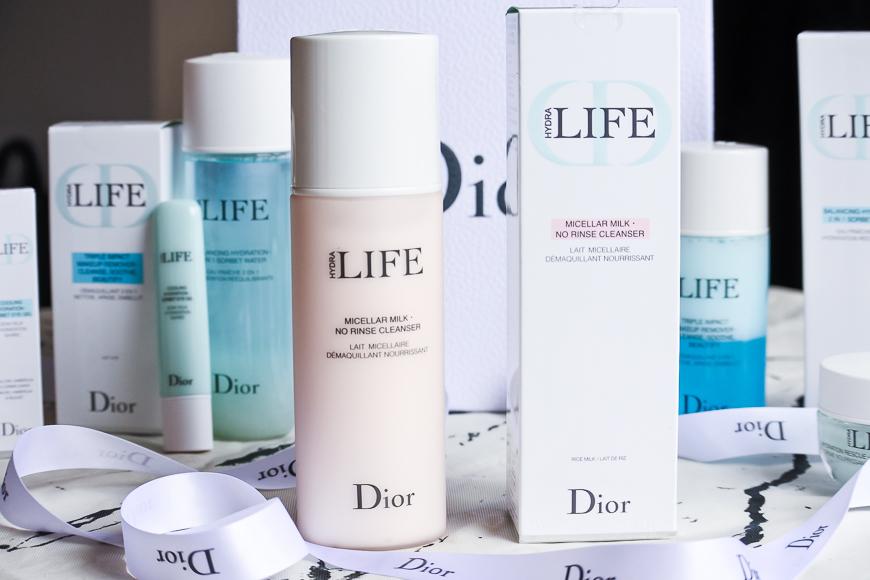 La gamme hydratation sorbet Hydra Life de Dior