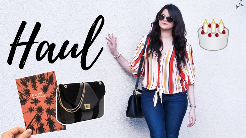 Haul • Birthday's Girl & pleins de pièces mode