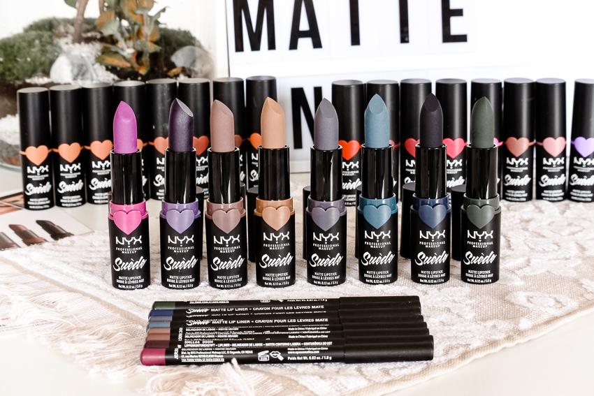 Les nouveaux Suède Matte Lipstick NYX