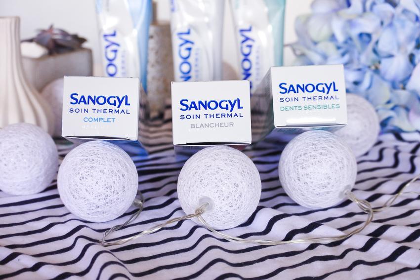 Les dentifrices à l'eau thermale Sanogyl