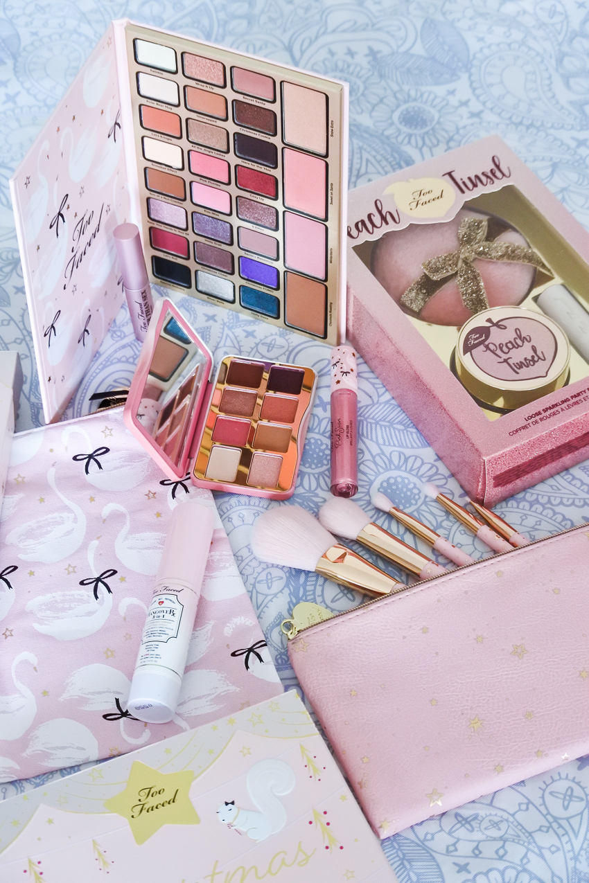 collection de noel too faced